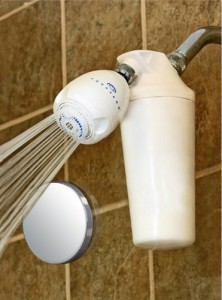 Aquasana AQ-4100 Deluxe Shower Water Filter with Adjustable Showerhead