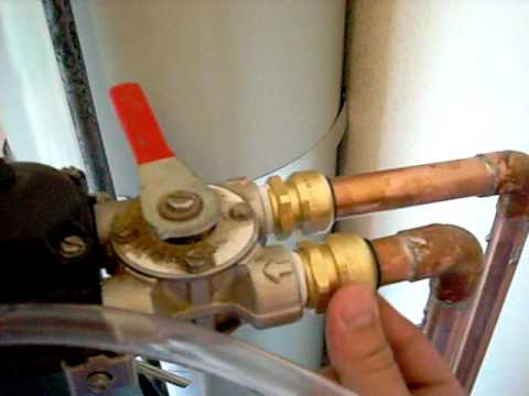 install the bypass valve