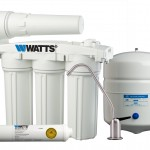 Watts WP5-50 Premier Five-Stage Manifold Reverse Osmosis Water Treatment System