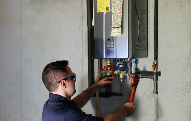 tankless water heater maintenance